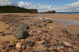 Seacliff beach, Tantallon, East Lothian