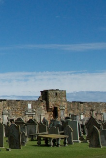 Tower in St Andrews Wall