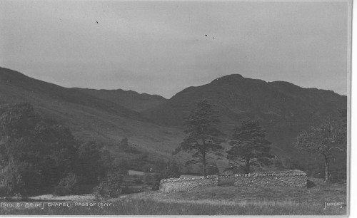 St Bride's in 1910, courtesy of Mrs M Goodman