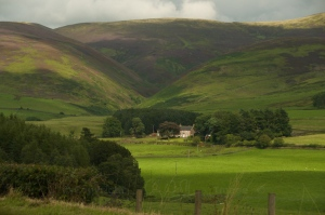 Drumlanrig valley view 11