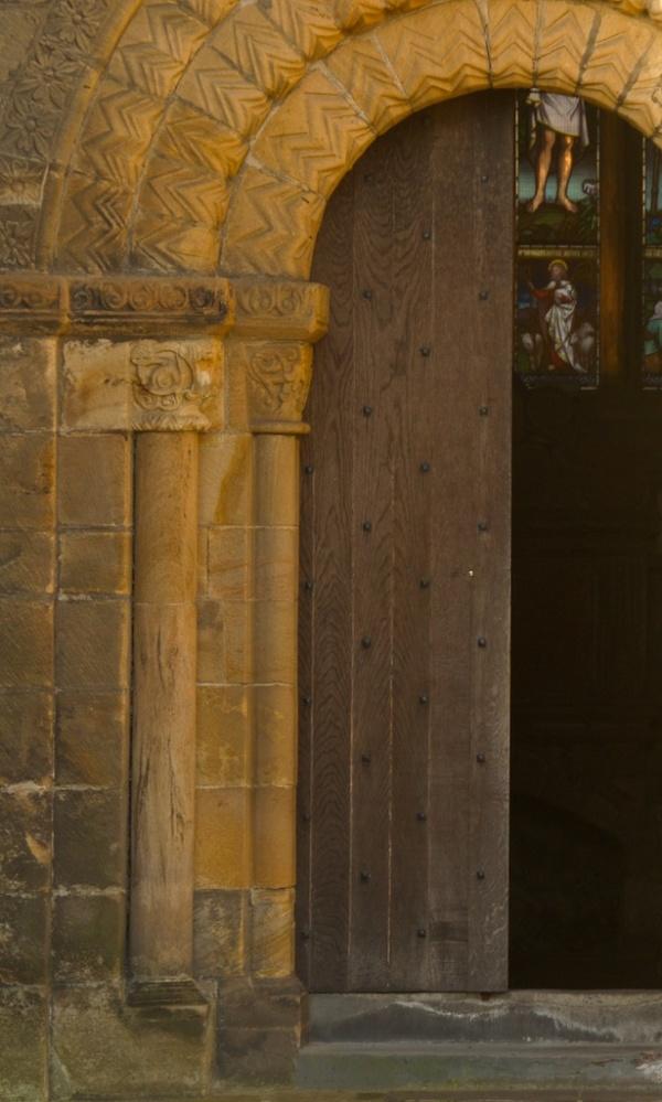 Dunfermline Abbey Church - doorway