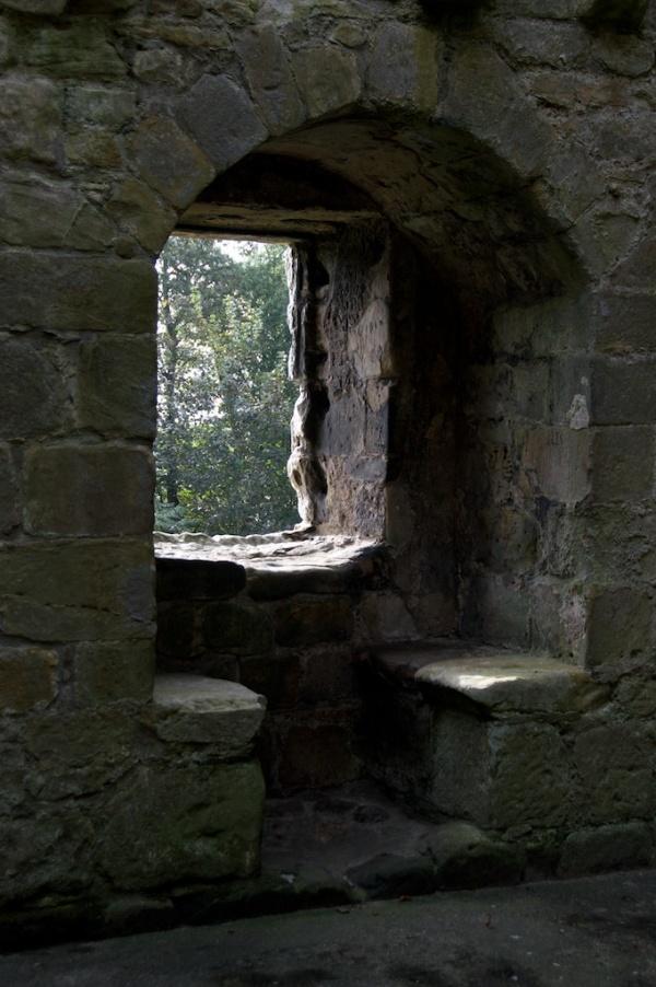 Tower House window