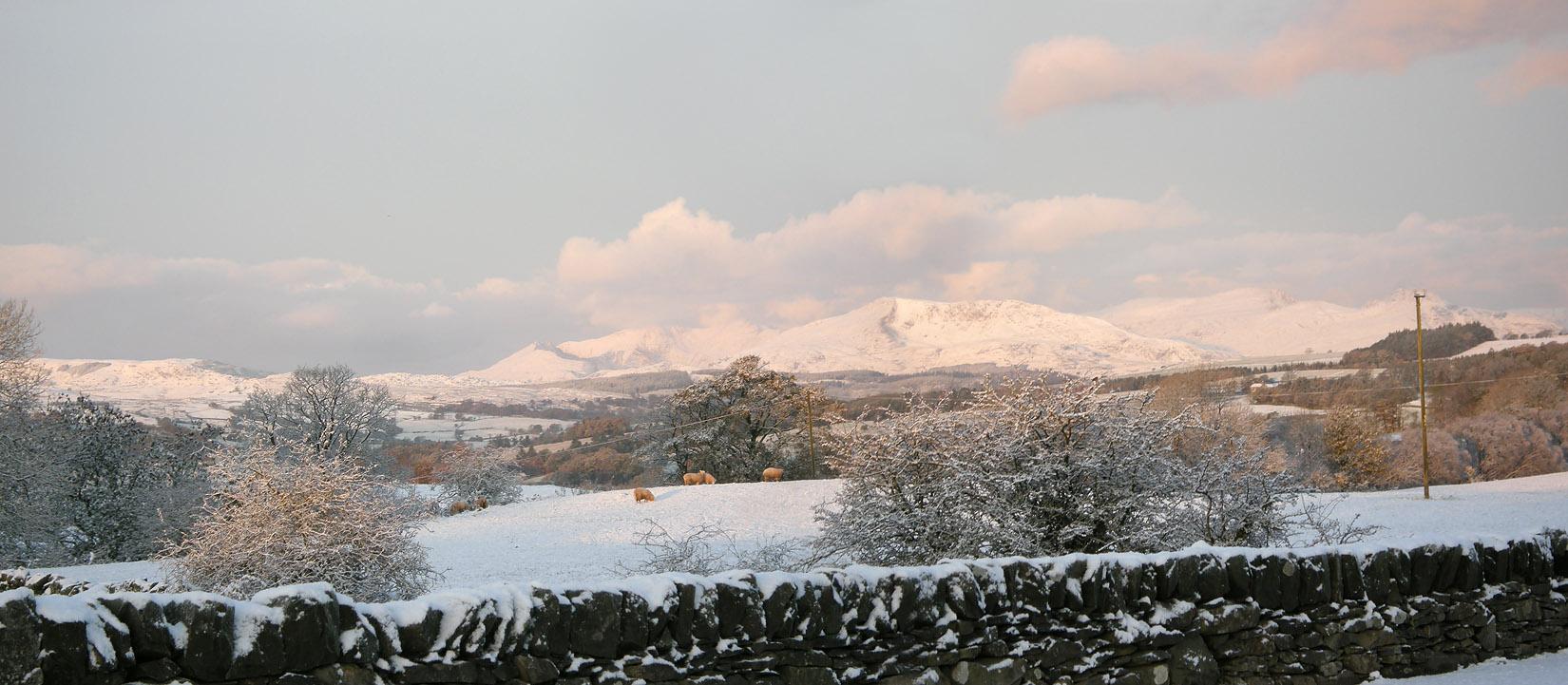 Snowdon panorama
