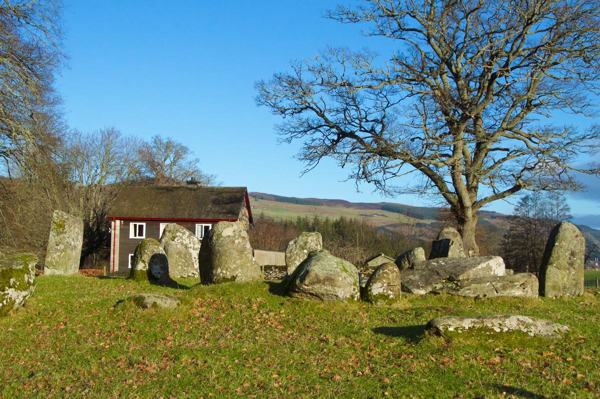 Croft Moraig, stone circle 66