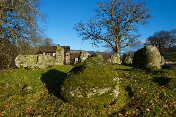 Croft Moraig, stone circle 68