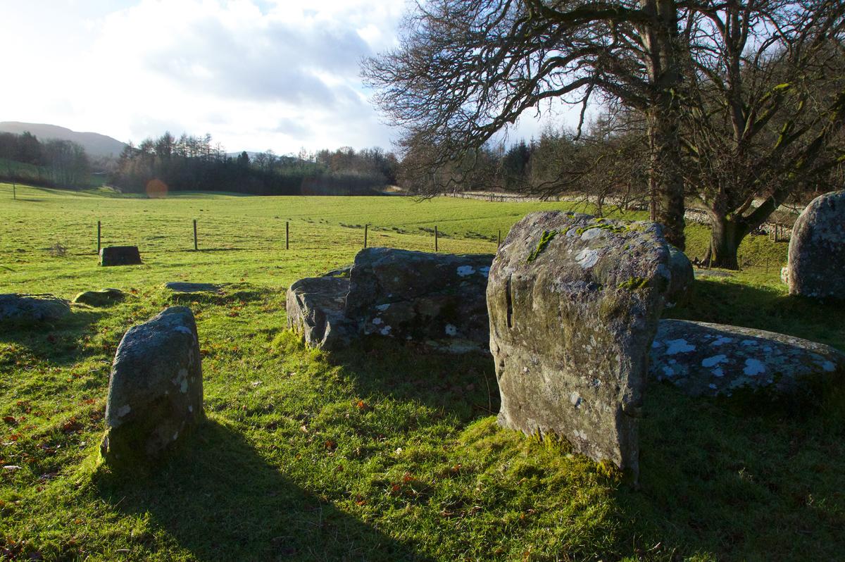 Croft Moraig, stone circle 77