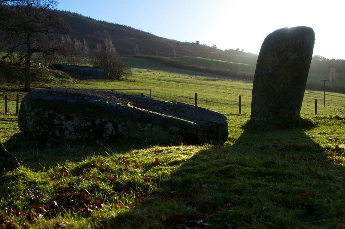 Croft Moraig, stone circle 82