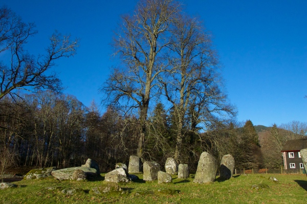Croft Moraig, stone circle 86