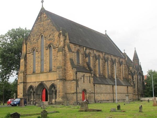 Govan Old Parish Church, home of the Govan stones, by B Keeling