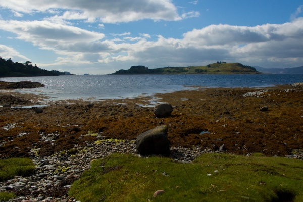 Appin beach and Shuna