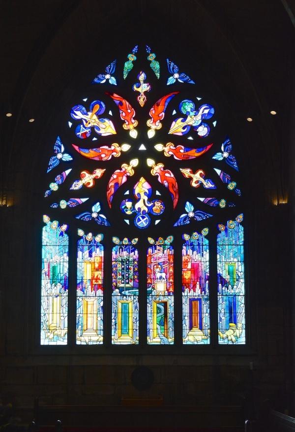 Window by Crear McCartney, St Katherine's Aisle Linlithgow