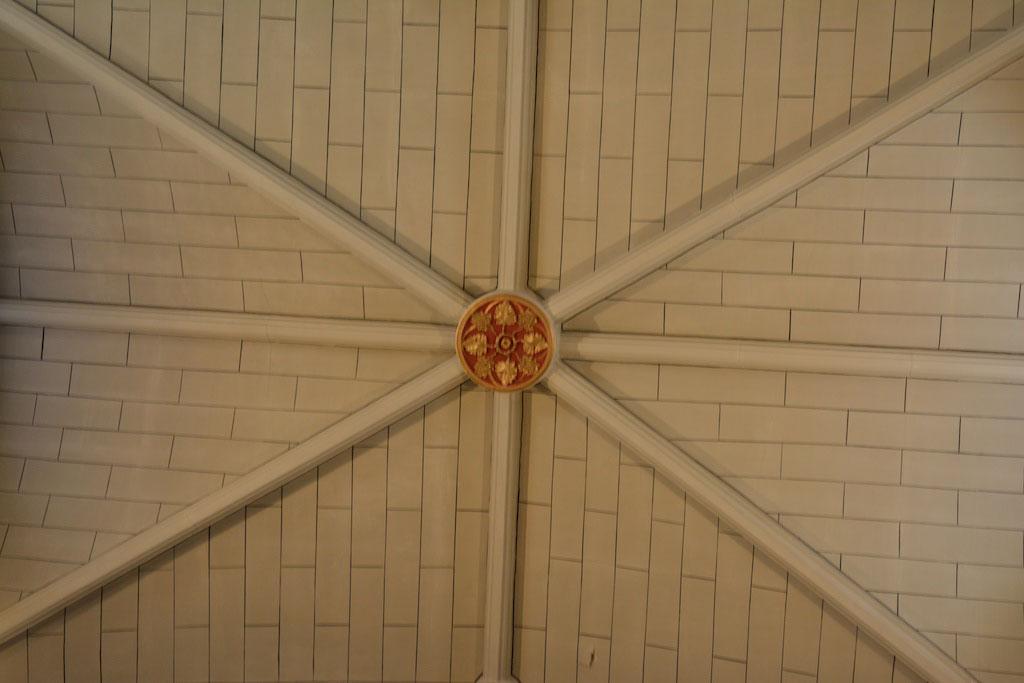 St Michael's church - ceiling