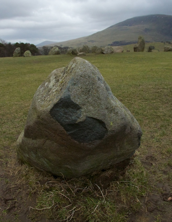 Castlerigg - fractured by frost?