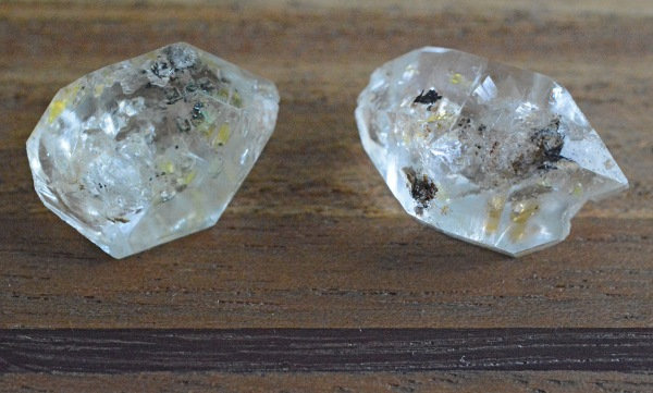 Herkimer diamonds (1)