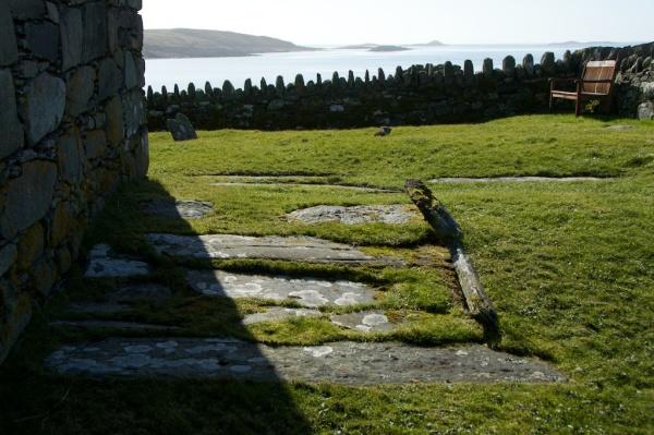 Keills Chapel and islands