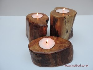 Sculpted Tealights by Justbod - Hawthorn (2)