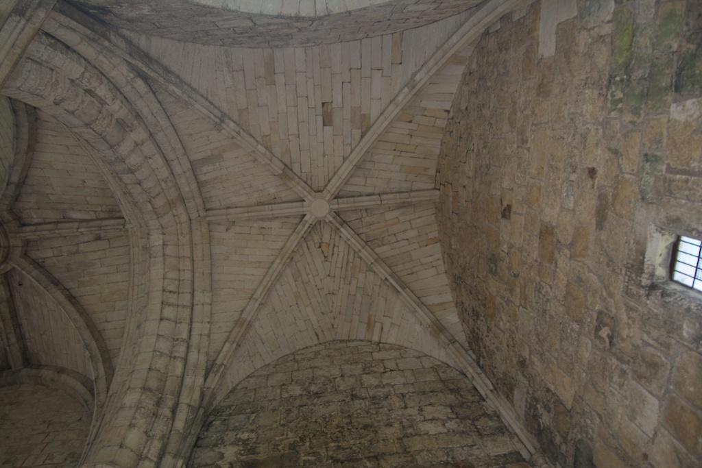 Ceiling in transept