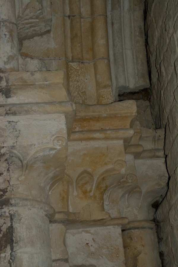 Detail of archway to nave