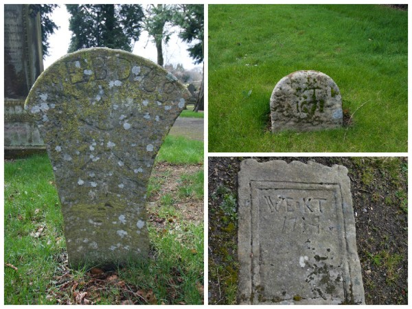 Old headstones