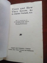 Trees and How They Grow book (1)