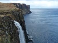 Kilt Rock waterfall crop