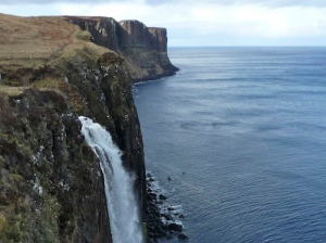 Kilt Rock waterfall crop