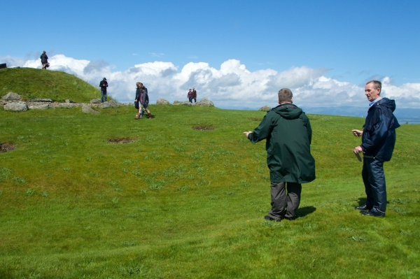 Dowsing at Cairnpapple 42