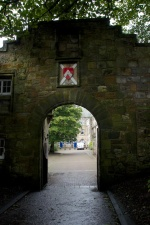 Entrance to St Leonard's College, St Andrews, where Knox was educated