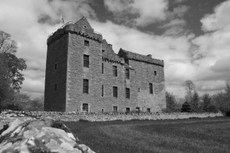 Huntingtower BW