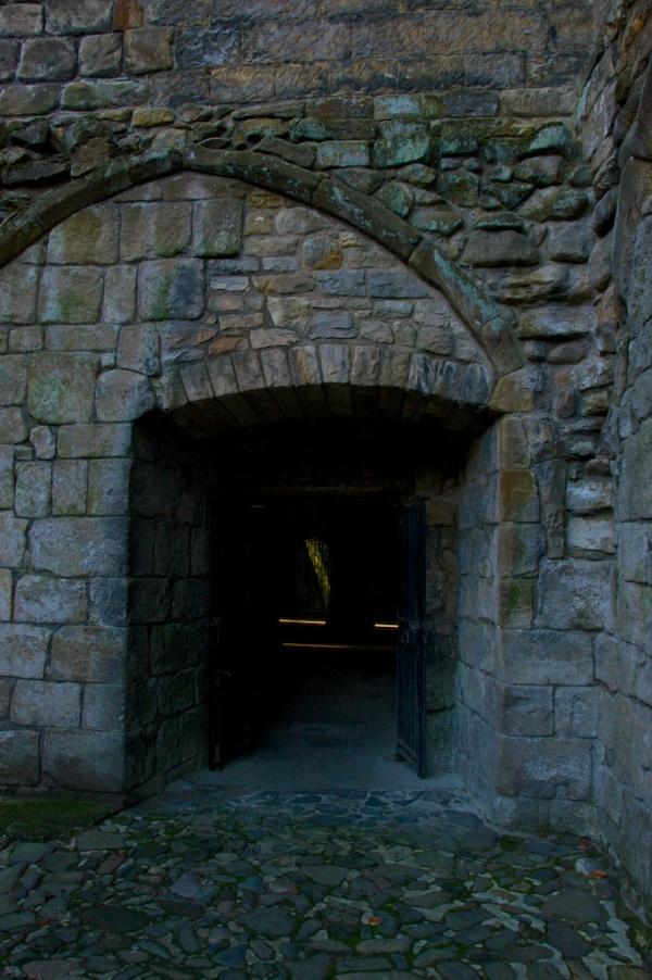 Dunfermline undercroft entrance