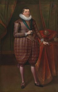Portrait of James VI by Paul van Somer, 1618 (similar to the one at Holyroodhouse)