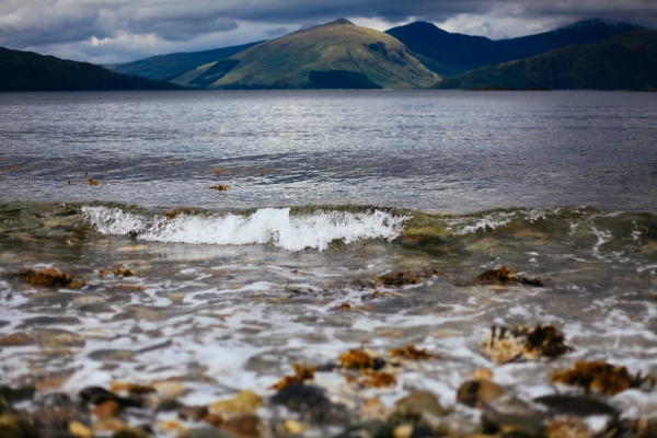 Waves on Lismore
