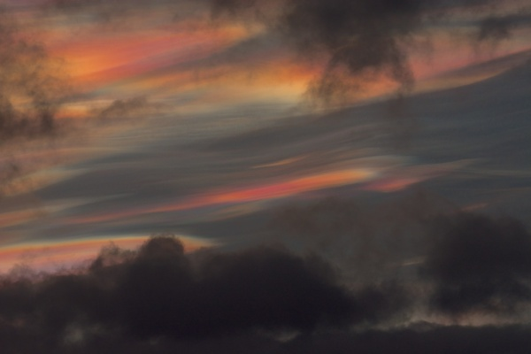 Nacreous clouds 2 Feb 16