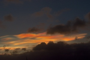 Nacreous clouds 2 Feb 3