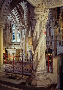 Apprentice pillar, Rosslyn © Rosslyn Chapel