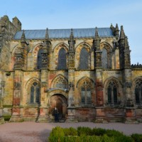 Rosslyn Chapel:  catching the light