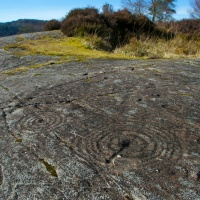 Prehistoric rock art at Achnabreck