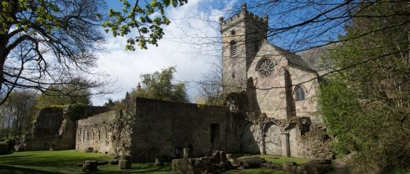 Culross Abbey Crop